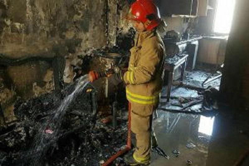 آتش سوزی خوابگاه دخترانه شادگان,اخبار حوادث,خبرهای حوادث,حوادث امروز