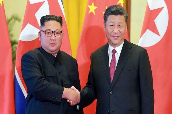 کیم جونگ اون و رئیس جمهور چین,اخبار سیاسی,خبرهای سیاسی,اخبار بین الملل