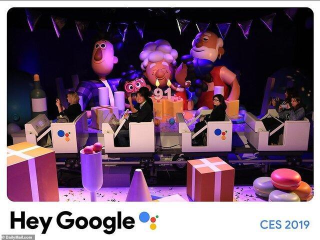 غرفه گوگل در نمایشگاه CES ۲۰۱۹,اخبار دیجیتال,خبرهای دیجیتال,گجت