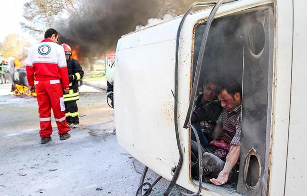 تصادف در اسدآباد,اخبار حوادث,خبرهای حوادث,حوادث