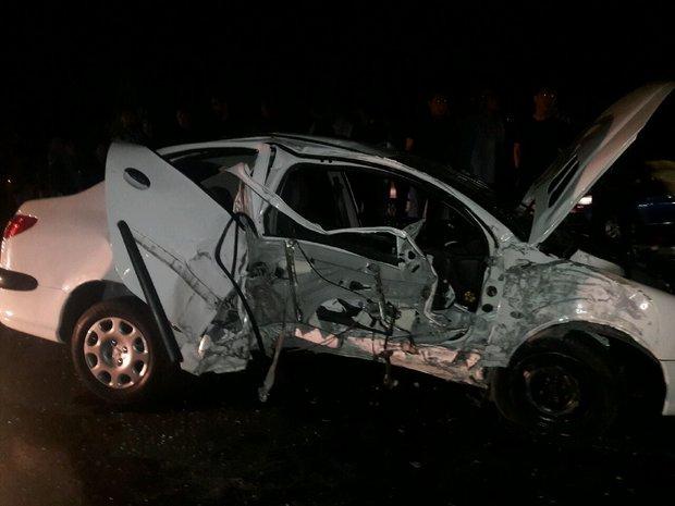 تصادف در جاده اراک - فرمهین,اخبار حوادث,خبرهای حوادث,حوادث