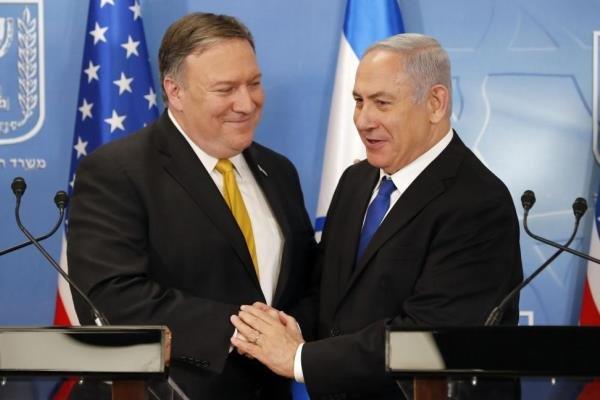 پومپئو و نتانیاهو,اخبار سیاسی,خبرهای سیاسی,سیاست خارجی