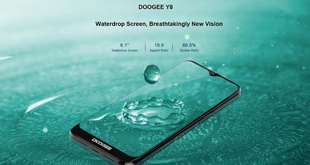 گوشی «دوجی وای 8» با ناچ قطرهای و قیمت رقابتی معرفی شد