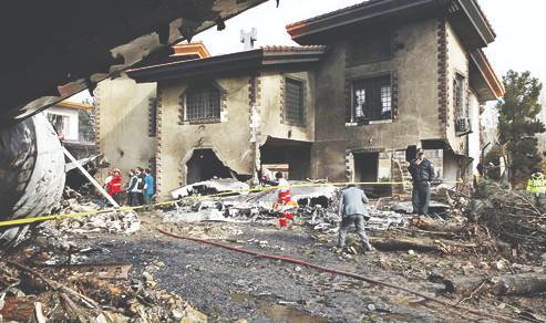 ویلای تخریبشده در حادثه بویینگ ٧٠٧,اخبار حوادث,خبرهای حوادث,حوادث