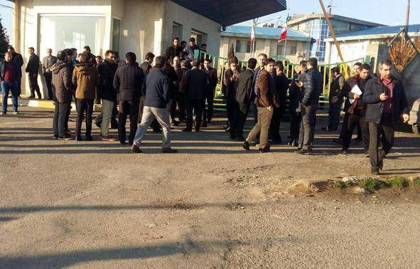 تجمع کارگران کشت و صنعت مغان/ به خصوصیسازی معترضیم