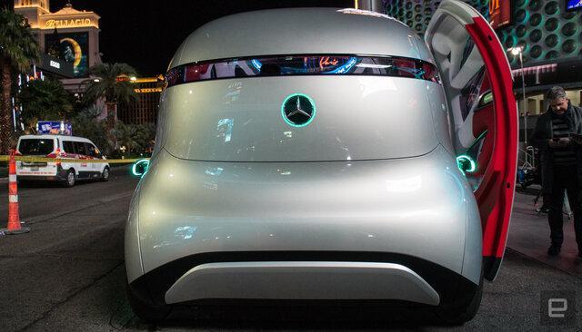 خودرو Urbanetic,اخبار خودرو,خبرهای خودرو,مقایسه خودرو