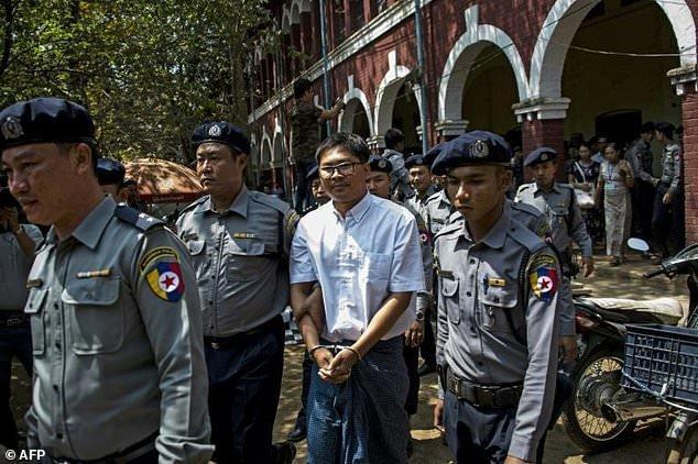 خبرنگاران محبوس رویترز در میانمار,اخبار سیاسی,خبرهای سیاسی,اخبار بین الملل