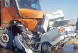 تصادفات کامیون ها,اخبار اجتماعی,خبرهای اجتماعی,جامعه