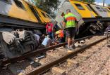 برخورد قطار در آفریقای جنوبی,اخبار حوادث,خبرهای حوادث,حوادث