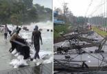 طوفان در تایلند,اخبار حوادث,خبرهای حوادث,حوادث طبیعی
