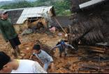 رانشزمین در جاوه اندونزی,اخبار حوادث,خبرهای حوادث,حوادث طبیعی