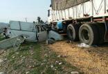 تصادف در جاده پلدختر - اندیمشک,اخبار حوادث,خبرهای حوادث,حوادث طبیعی