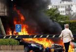 انفجار و تیراندازی در مرکز نایروبی در کنیا,اخبار سیاسی,خبرهای سیاسی,اخبار بین الملل