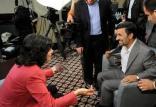محمود احمدینژاد و کریستین امان پور,اخبار فرهنگی,خبرهای فرهنگی,رسانه