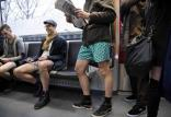 روز جهانی بدون شلوار در مترو,اخبار جالب,خبرهای جالب,خواندنی ها و دیدنی ها