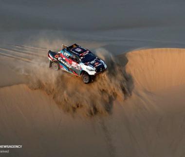 تصاویر رقابت های رالی داکار,عکس های رالی داکار,تصاویر رالی داکار در صحرای پرو