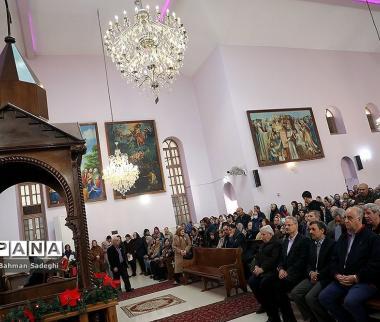 عکسهای احمدینژاد با بابانوئل,تصاویر محمود احمدینژاد,عکس های احمدی نژاد در کلیسا