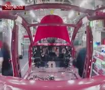 فیلم/ تولید خودروی تسلا را در ۴۸ ثانیه ببینید