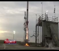 فیلم/ انفجار راکت فضایی ژاپن ۴ ثانیه پس از پرتاب!