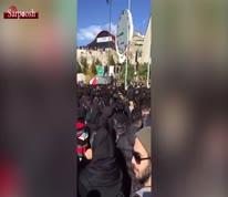 ویدئو/ تجمع اعتراضی دانشجویان دانشگاه آزاد واحد علوم و تحقیقات در واکنش به اتوبوس مرگ