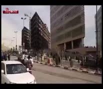 ویدئو/ یکی از مسئولان دانشگاه آزاد، دانشجویان را با خودرواش زیر گرفت