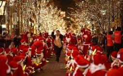 تصاویر کریسمس در سرتاسر جهان,عکس های کریسمس در جهان,تصاویری از جشن کریسمس در سرتاسر جهان