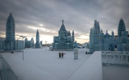تصاویر جشنواره سالانه برف در چین,عکس های جشنواره یخ در چین,تصاویر دیدنی از چین