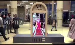 ویدئو/ محو کردن زنان مدل در شو لباس در ایران