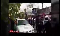 فیلم/ دستگیری سارق مسلح در رشت