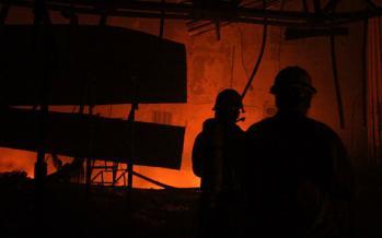 حادثه آتش سوزی,کار و کارگر,اخبار کار و کارگر,حوادث کار