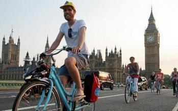 دوچرخه سواری در لندن,اخبار اجتماعی,خبرهای اجتماعی,شهر و روستا