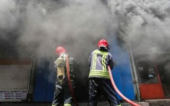 حریق در کارگاههای CNC ملایر,اخبار حوادث,خبرهای حوادث,حوادث امروز