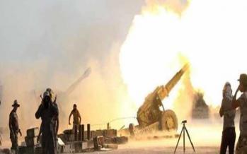 حملات توپخانهای حشد شعبی عراق به مواضع داعش در سوریه,اخبار سیاسی,خبرهای سیاسی,خاورمیانه