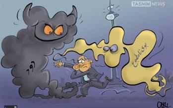 کاریکاتور بوی نامطبوع و آلودگی هوا در تهران,کاریکاتور,عکس کاریکاتور,کاریکاتور اجتماعی