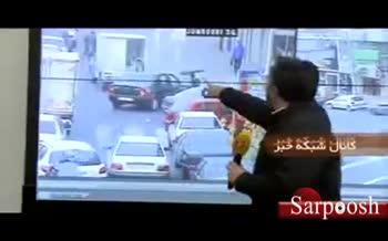 فیلم/ شغل عجیب یک موتورسوار تهرانی!