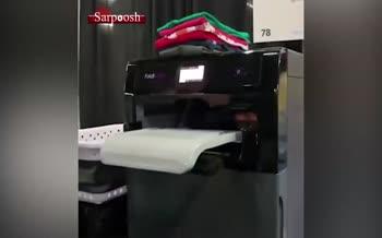 ویدئو/ دستگاه تا کردن خودکار لباس