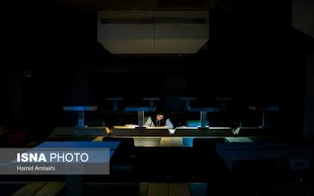 تصاویر شیفت شب کتابخانه ملی,عکس های کتابخانه ملی,تصاویر فضای کتابخانه ملی