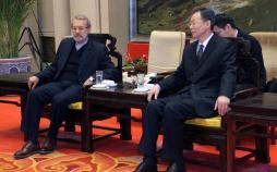 عکس سفرعلی لاریجانی به چین,تصاویرسفرعلی لاریجانی به چین,عکس دیدارعلی لاریجانی و لی ژان شو