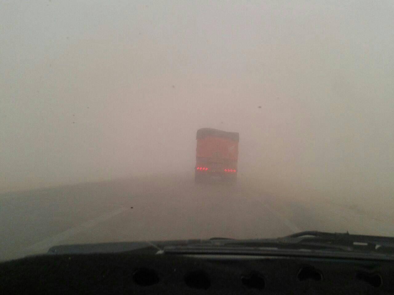 گرد و غبار جاده ها,اخبار اجتماعی,خبرهای اجتماعی,محیط زیست