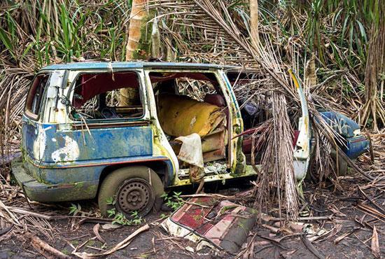 خودروهای رها شده در طبیعت,اخبار جالب,خبرهای جالب,خواندنی ها و دیدنی ها