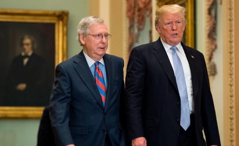 ترامپ و میچ مک کانل,اخبار سیاسی,خبرهای سیاسی,اخبار بین الملل