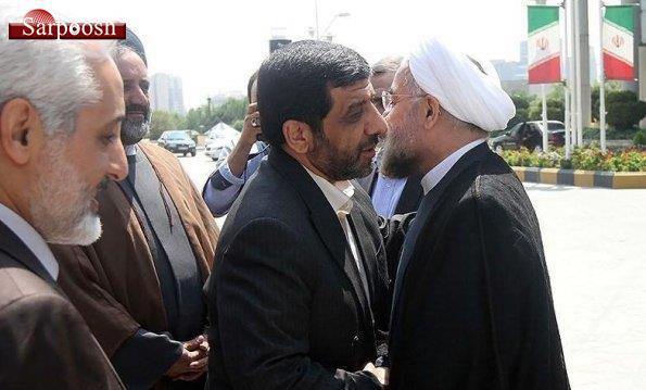 حس روحانی و عزت الله ضرغامی,اخبار سیاسی,خبرهای سیاسی,اخبار سیاسی ایران