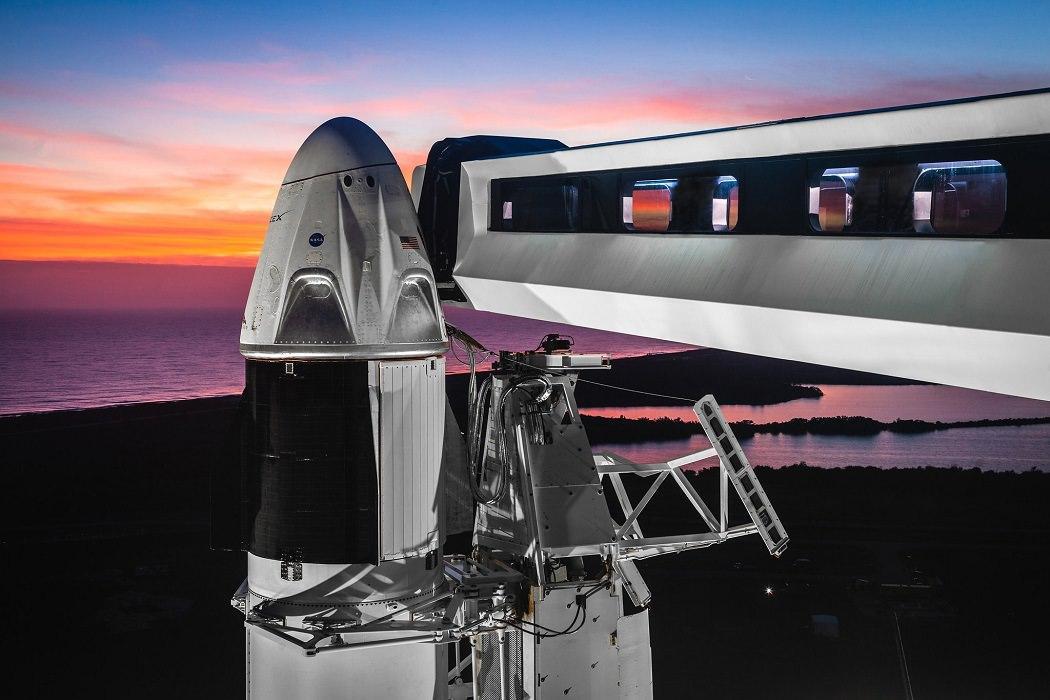 فضاپیمای دراگون سرنشیندار اسپیسایکس,اخبار علمی,خبرهای علمی,نجوم و فضا