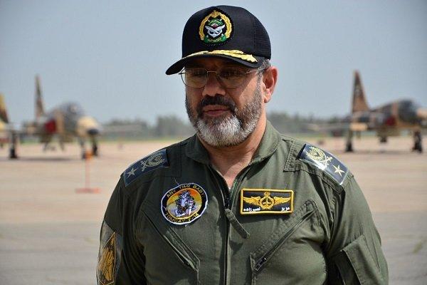فرمانده نیروی هوایی ارتش: بیصبرانه آماده محو اسرائیل از روی زمین هستیم