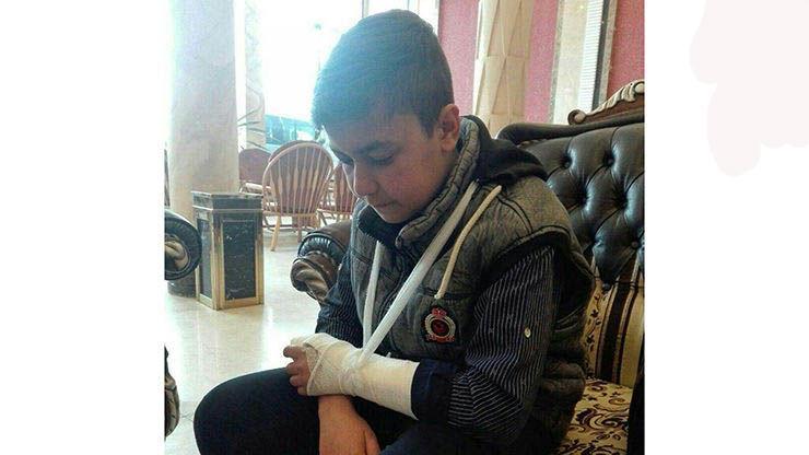 تنبیه بدنی یک دانشآموز در یکی از مدارس شهر همدان,نهاد های آموزشی,اخبار آموزش و پرورش,خبرهای آموزش و پرورش