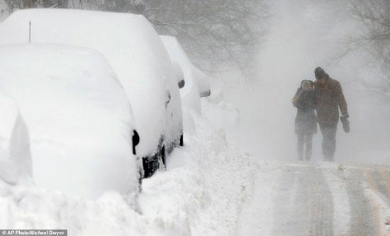 سرما در آمریکا,اخبار حوادث,خبرهای حوادث,حوادث طبیعی