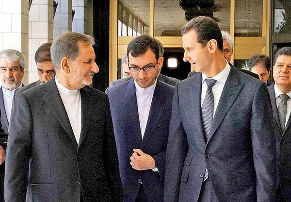 رئیس دستگاه اطلاعاتی روسیه به بن سلمان: مایل به مهار نفوذ ایران در سوریه هستیم/ سفر جهانگیری به دمشق پیامی به پوتین بود؟