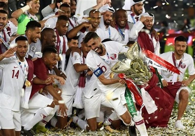 دیدار تیم ملی قطر و ژاپن,اخبار فوتبال,خبرهای فوتبال,لیگ قهرمانان و جام ملت ها