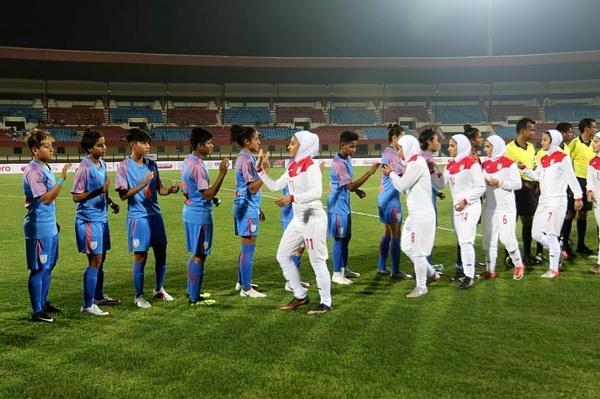 دیدار تیم ملی فوتبال بانوان و هند,اخبار ورزشی,خبرهای ورزشی,ورزش بانوان