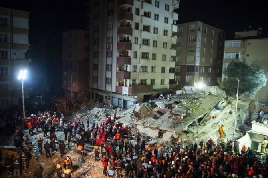 حادثه ریزش ساختمان در ترکیه,اخبار حوادث,خبرهای حوادث,حوادث امروز